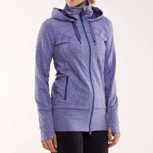 Lululemon Stride Jacket In Heathered Royalty